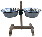 Wood & Metal Double Diners