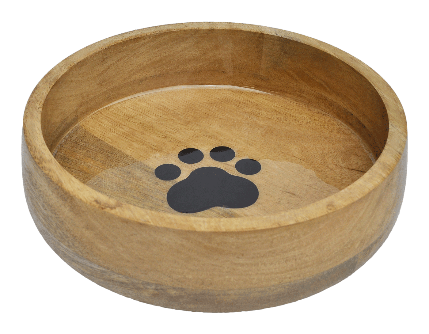 Wooden Bowl Curved