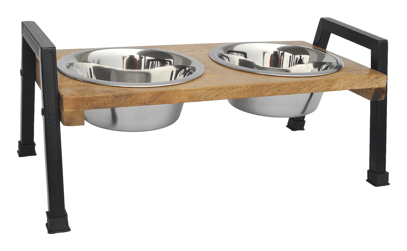 Wooden 'A' Design Double Diner