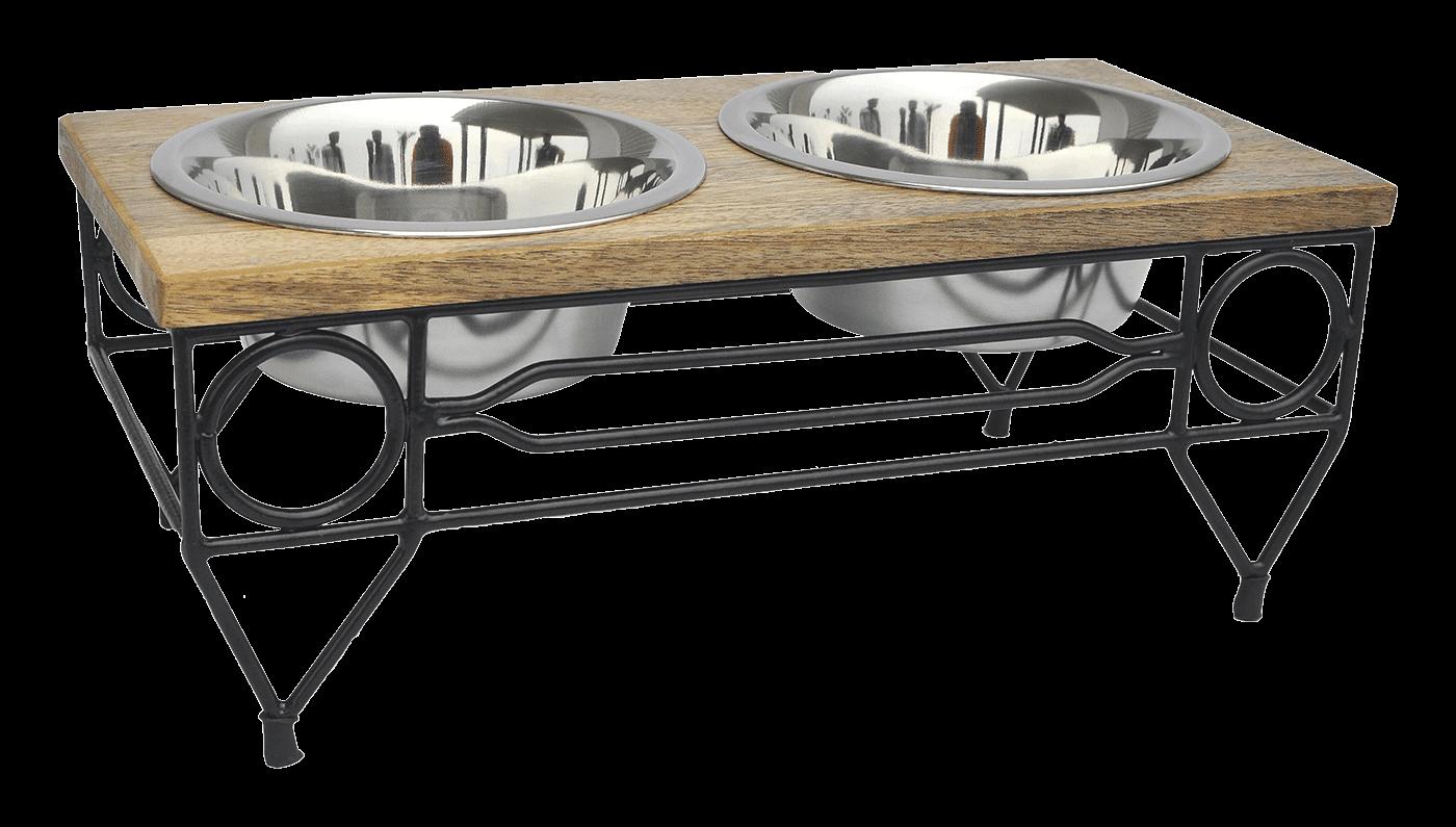 Wooden Top Double Diner