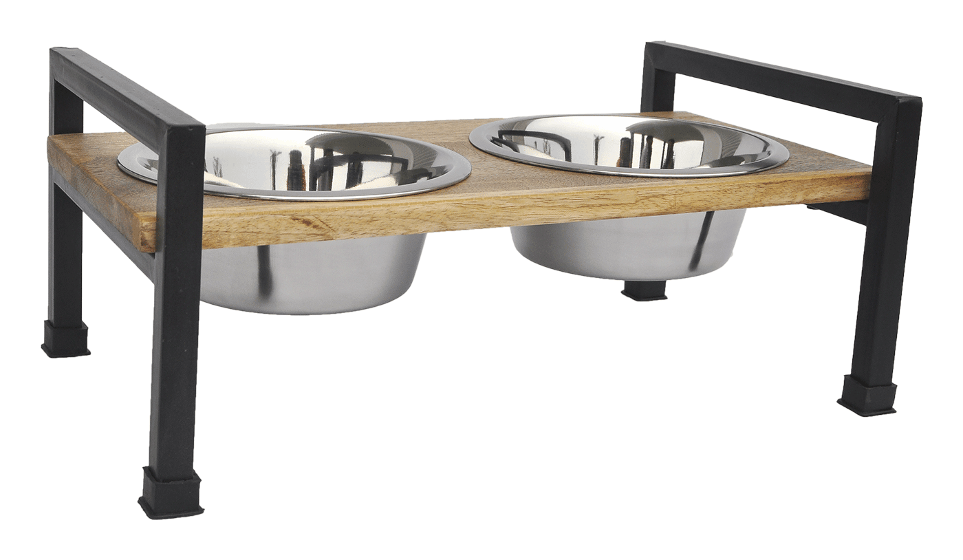 Wooden Square Design Double Diner